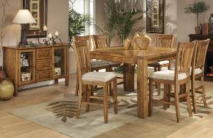 mahogany colonial bar dining teak wooden indoor furniture kiln dry solid