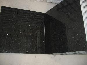 galaxy granite tile star