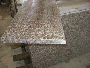 steps risers stone staris half bullnose