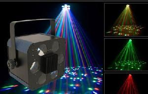 moon flower laser disco light