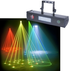 tri fusion bar laser led stage light