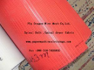 polyester spiral fabric