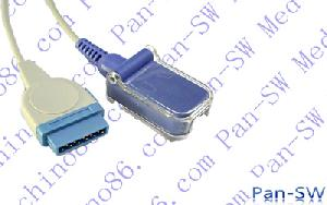 marquette spo2 cable de extensión el gris