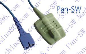 nellcor de silicona para adultos punta blanda sensor spo2