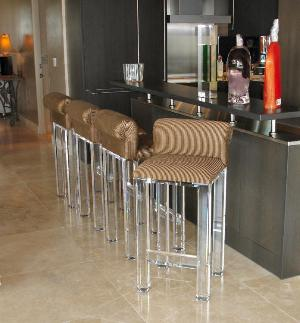 acrylic bar stools chairs