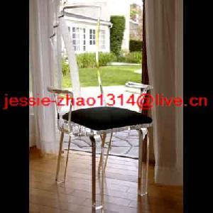 acrylic chair arm