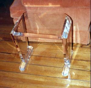 acrylic sofa table