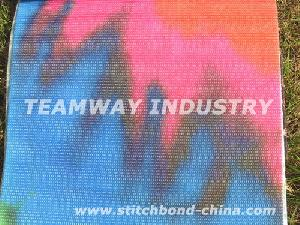 recycled polyester stitchbond nonwoven fabric printing