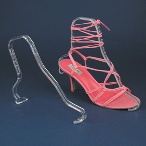 acrylic shoe form