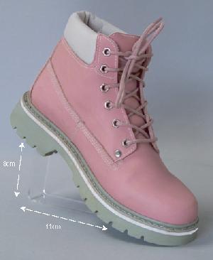 acrylic shoe heel