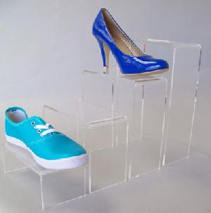 acrylic shoes platform