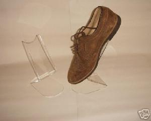 clear acrylic freestanding shoe stands