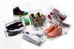 clear shoe box