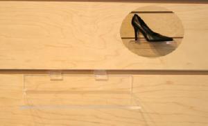 deluxe slat wall shelves