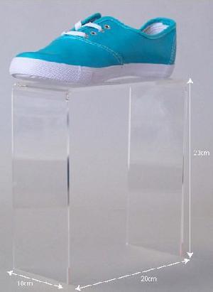 hign acrylic shoes platform