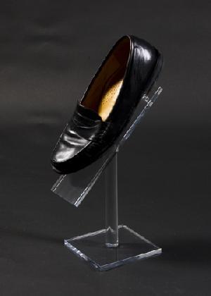 lucite acrylic shoe riser