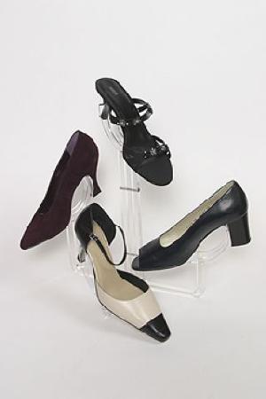 multi shoe display stand