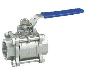 thread ball valve 1 2 3 pc