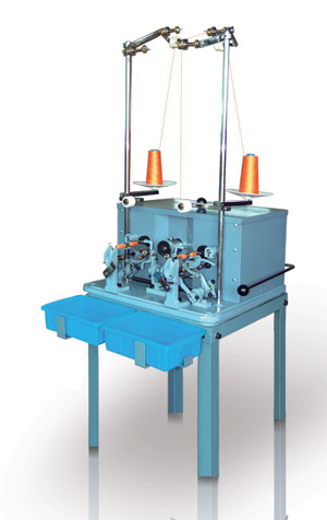 shuttle core winding machine