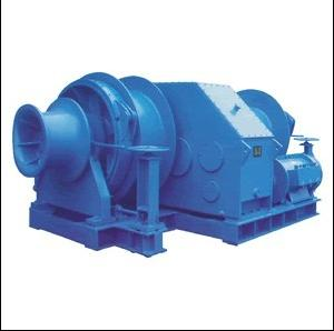 electric multiple drum mooring winch