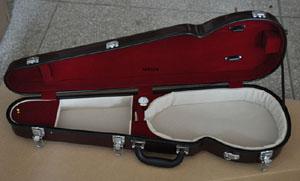 burgundy violin case