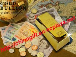 gold bullion coin jar money bank
