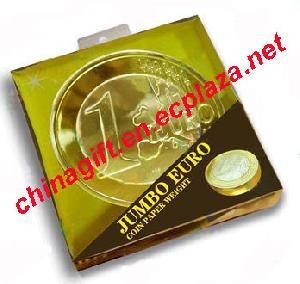 jumbo coin paper door stop