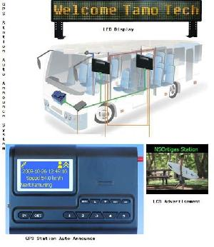 gps station announcement embedded os bus auto announcer video ads