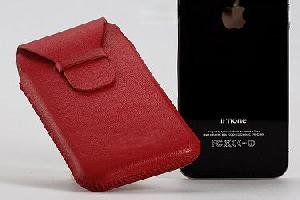 2010 iphone 4g leather case shenzhen manufacture factory