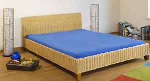 singapore minimalist rattan bed woven wicker indoor furniture bali java indonesia