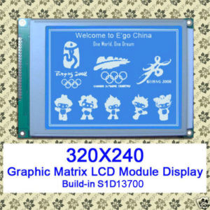 stn fstn graphic lcd module led light 320240