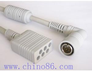 colin bp306 tres ecg plomo cable troncal
