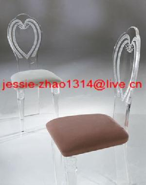 acrylic dining chairs ok