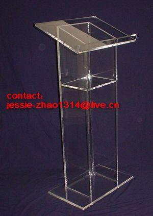 crystal lectern