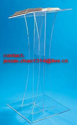 crystal acrylic podium manufacturer