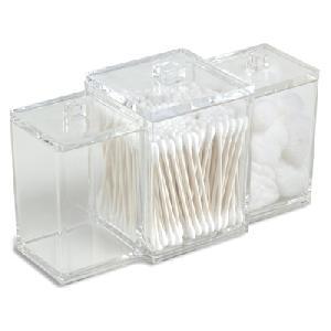 3 canister acrylic box