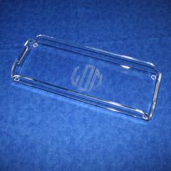 acrylic rectangle vanity tray