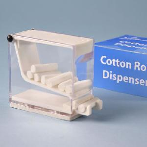 cotton roll dispenser clear acrylic