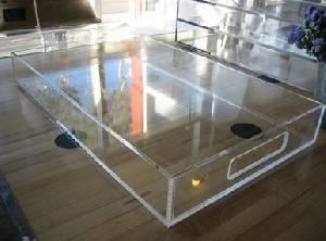 lucite acrylic tray