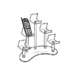 acrylic cell phone display rack