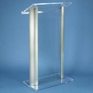 acrylic furniture lectern