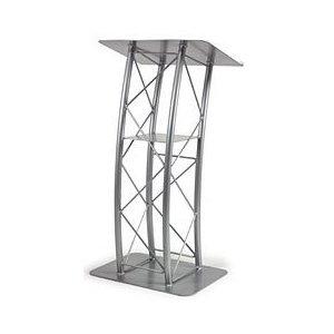 aluminium curved podium
