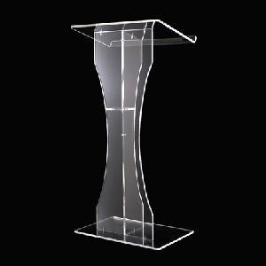 modern acrylic podium