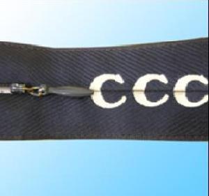 jacquard zipper