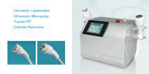 portable ultrasonic cavitation tripolar rf slimming machine