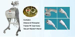 vacuum ultrasonic cavitation rf slimming machine