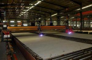cnc plasma oxy fuel cutting machine