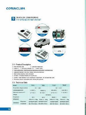 transport refrigeration units truck