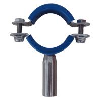 sanitary stainless steel pipe holder insert