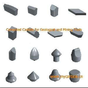 cemented carbide geological mining tools